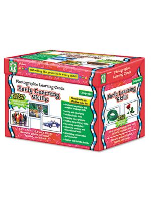 Photographic Learning Cards Boxed Set, Early Learning Skills, Grades K-12