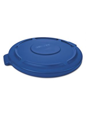 Round Flat Top Lid, for 44-Gal Round Brute Containers, 24 1/4