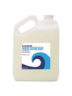 Mild Cleansing Lotion Soap, Floral Scent, Liquid, 1gal Bottle, 4/Carton