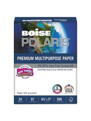 POLARIS Premium Multipurpose Paper, 8 1/2 x 11, 24lb, White, 5000/CT