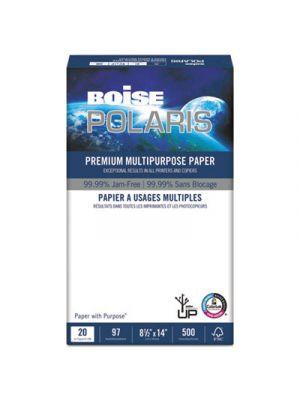 POLARIS Premium Multipurpose Paper, 8 1/2 x 14, 20lb, White, 5000/CT