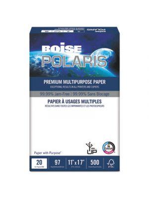POLARIS Premium Multipurpose Paper, 11 x 17, 20lb, White, 2500/CT