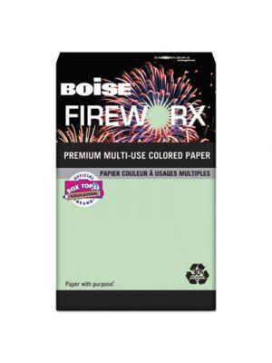 FIREWORX Colored Paper, 24lb, 8-1/2 x 11, Popper-mint Green, 500 Sheets/Ream