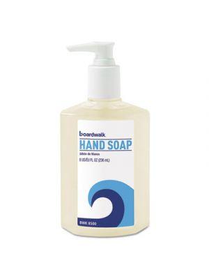 Liquid Hand Soap, Floral, 8oz Pump Bottle, 12/Carton