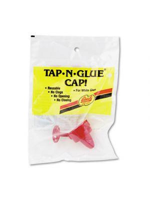 Tap 'N Glue Dispenser Cap with Spring-Loaded Stopper