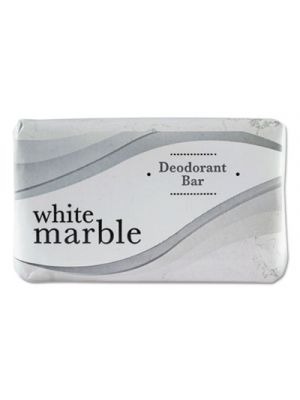 Individually Wrapped Deodorant Bar Soap, White, # 3 Bar, 200/Carton