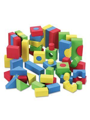 WonderFoam Blocks, Assorted Colors, 68/Pack