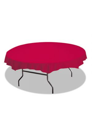 Octy-Round Plastic Tablecover, 82