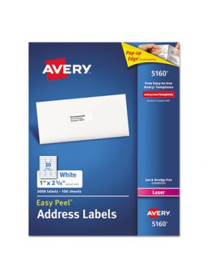Easy Peel Mailing Address Labels
