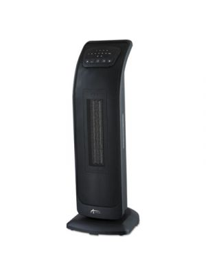 Tower Ceramic Heater with Remote Control, 9 1/4