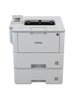 Workhorse HL-L6400DWT Business Laser Printer w/Dual Trays, Mid-Size Workgroups