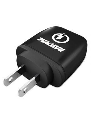 Single USB Wall Charger, 1 USB Port, Black
