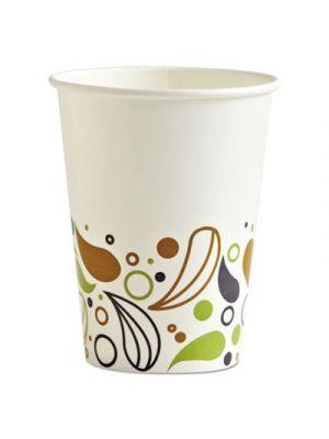 Deerfield Printed Paper Cold Cups, 12 oz, 50 Cups/Pack, 20 Packs/Carton