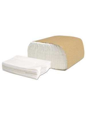 Select Low Fold III Napkins, 1-Ply, 5 1/2 x 12, White, 333/Pack, 24 Pack/Carton