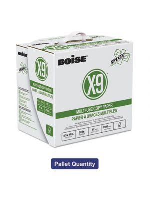 X-9 SPLOX Multi-Use Paper, 92 Bright, 20lb, 8.5x11, White, 200000 Sheets/Pallet