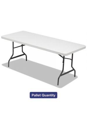 Folding Table, 72w x 30d x 29h, Platinum/Charcoal, 15/Pallet