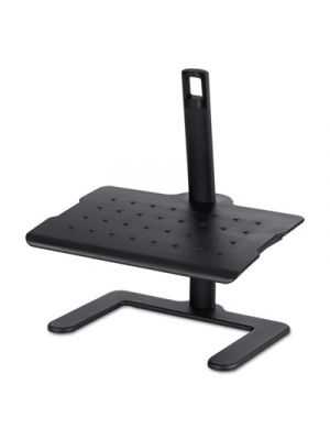 Height-Adjustable Footrest, 20 1/2w x 14 1/2d x 3 1/2 to 21 1/2h, Black