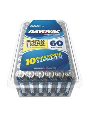 Alkaline Battery, AAA, 60/Pack