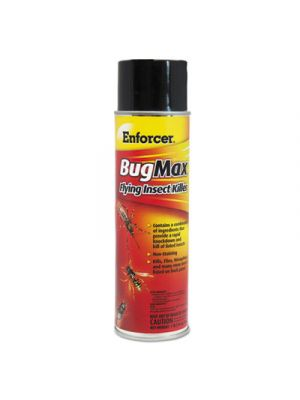 BugMax Flying Insect Killer, 16 oz Aerosol Can, 12/Carton
