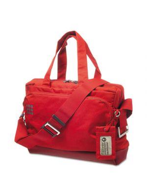 myCloud Curve Briefcase, 12 1/2 x 4 1/4 16 3/4, Scarlet Red
