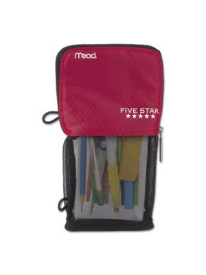 Stand 'N Store Pencil Pouch, 4 1/2 x 8, Red