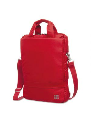 myCloud Vertical Device Bag, 15 1/4 x 3 1/4 x 11 1/2, Scarlet Red