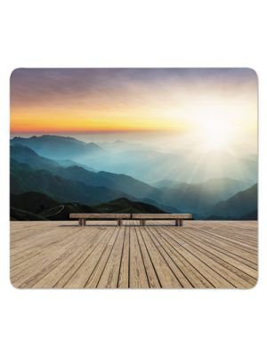 Recycled Mouse Pads, Mountain Design, 9 x 8 x 1/16