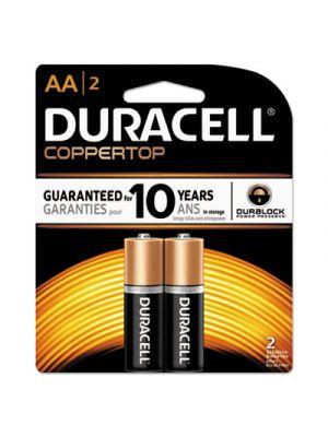 CopperTop Alkaline Batteries, AA, 2/PK