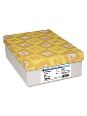 Classic Crest #10 Envelope, 4 1/8 x 9 1/2, Solar White, 500/Box