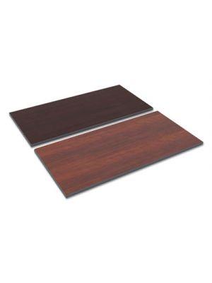 Reversible Laminate Table Top, Rectangular, 47 5/8 x 23 5/8, Med Cherry/Mahogany