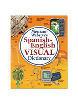 Spanish-English Visual Dictionary, Paperback, 1152 Pages