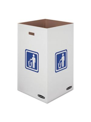 Waste and Recycling Bin, 50 gal, 18