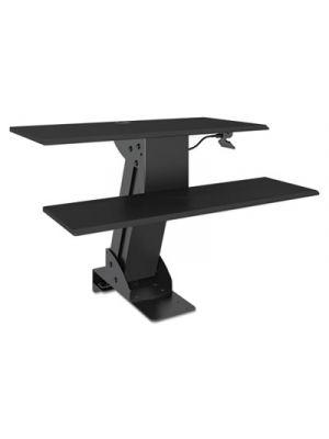 AdaptivErgo Sit-Stand Lifting Workstation, 31 1/2 x 40 x 20, Black