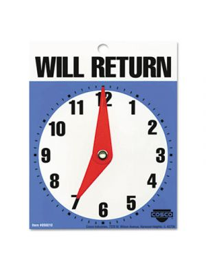 Will Return Later Sign, 5
