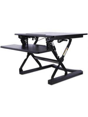 AdaptivErgo Sit-Stand Lifting Workstation, 26 3/4 x 31 x 19 5/8, Black