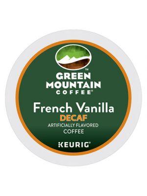 French Vanilla Decaf Coffee K-Cups, 96/Carton