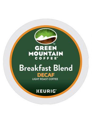 Breakfast Blend Decaf Coffee K-Cups, 96/Carton