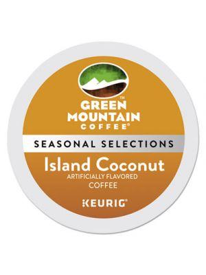 Island Coconut Coffee K-Cups, 96/Carton