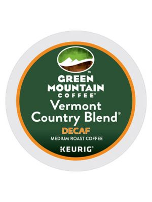 Vermont Country Blend Decaf Coffee K-Cups, 96/Carton