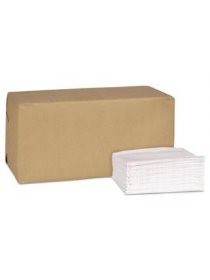 Universal Masterfold Dispenser Napkins, 1-Ply, 13x 12, Bag-Pack, White, 6000/Ct