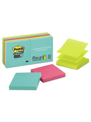Pop-up 3 x 3 Note Refill, Miami, 90/Pad, 10 Pads/Pack