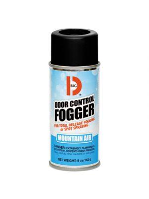 Odor Control Fogger, Mountain Air Scent, 5 oz Aerosol, 12/Carton
