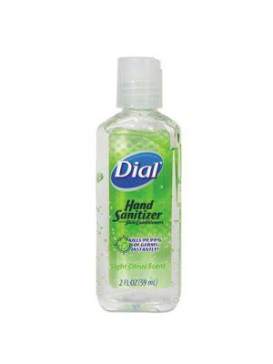 Scented Antibacterial Hand Sanitizer, 2 oz, Light Citrus