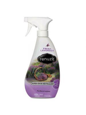 Super Odor Neutralizer Spray, Fresh Lavender, 13 oz Spray Bottle, 6/Ctn