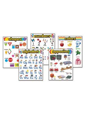 Learning Chart Combo Packs, Kindergaten Basics, 18