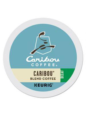 Caribou Blend Decaf Coffee K-Cups, 96/Carton