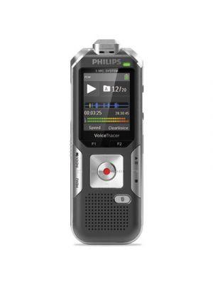 Voice Tracer 6010 Digital Recorder, 8 GB, Gray/Silver