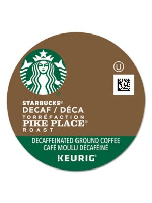Pike Place Decaf Coffee K-Cups, 96/Carton