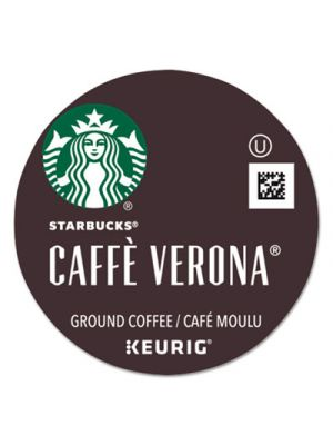 Cafe Verona Coffee K-Cups Pack, 24/Box