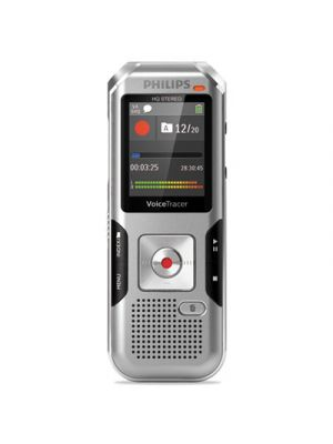 Voice Tracer 4010 Digital Recorder, 8 GB, Silver
